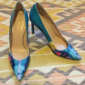 Stuart Weitzman • NWOB Colorful Leather Pumps